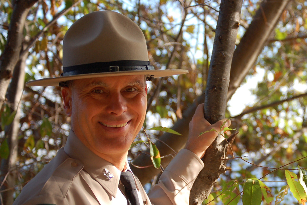 Maryland park ranger, photo by multimedia journalist and environment reporter Pamela Wood.