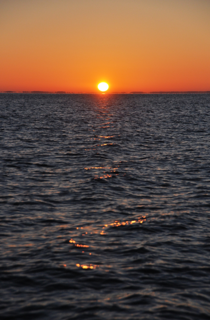 Chesapeake Bay sunrise, photo by multimedia journalist and environment reporter Pamela Wood.