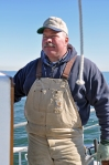 Chesapeake Bay skipjack Capt. Barry Sweitzer, photo by multimedia journalist and environment reporter Pamela Wood.