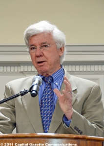 Maryland Governor Parris Glendening -- Photo by multimedia journalist and environment reporter Pamela Wood