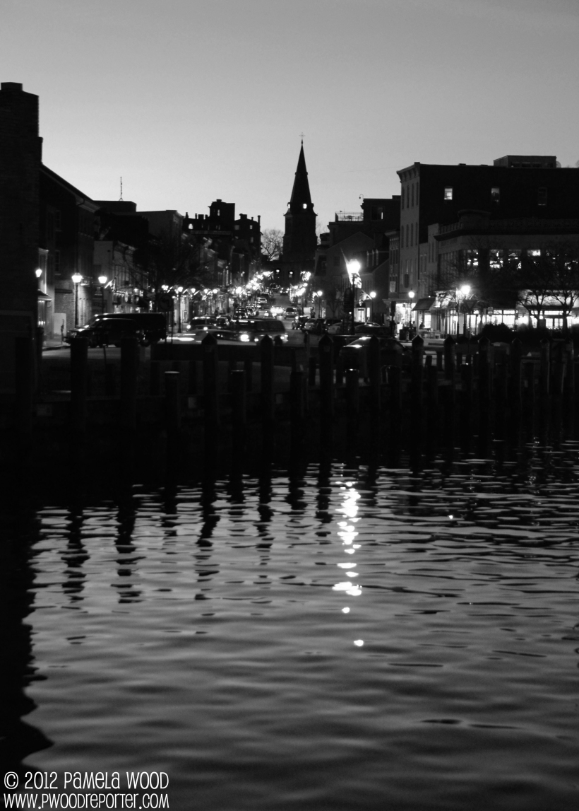 Annapolis City Dock, photo by multimedia journalist Pamela Wood.
