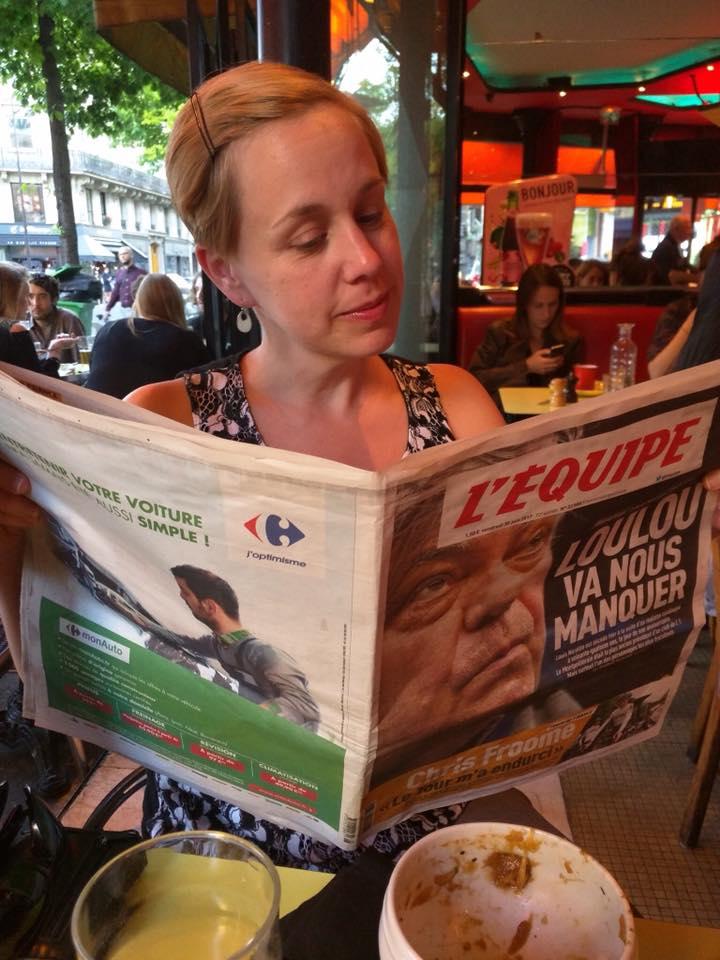 Paris newspaper June 2017